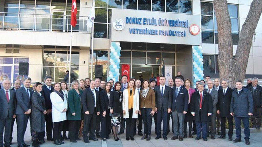 Dokuz Eylül Üniversitesi Veteriner Fakültesi açıldı