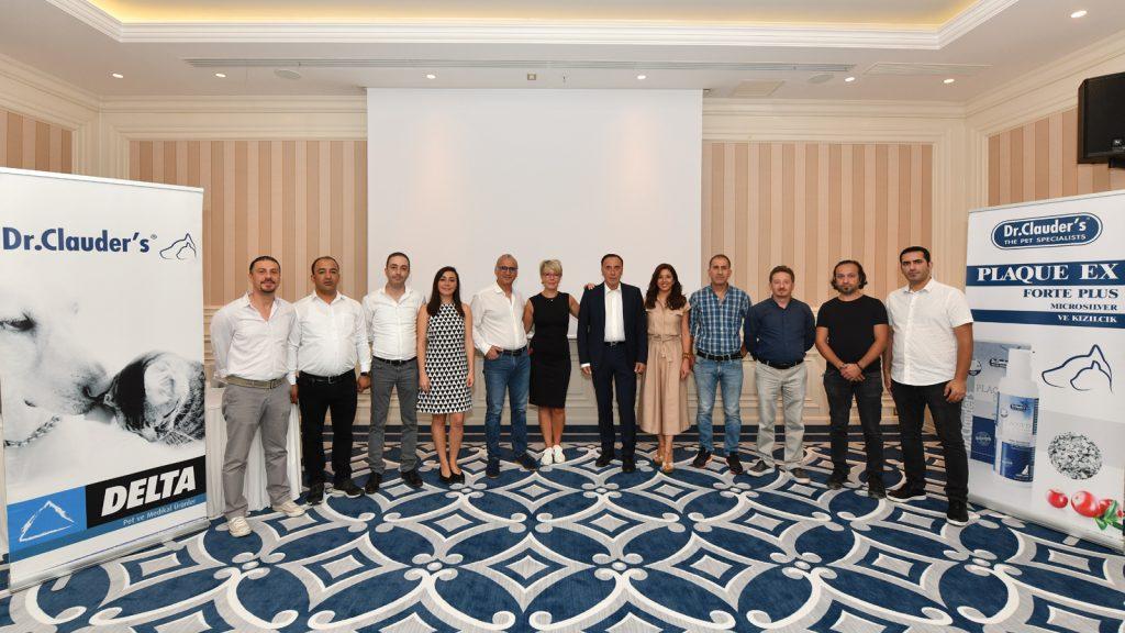 Delta Pet, Dr. Clauder's firmasının ürün eğitimini İstanbul'da gerçekleştirdi