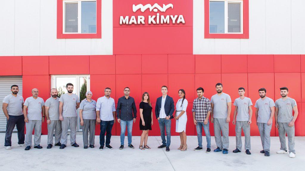 En kaliteli hammaddeler ile hedef odaklı inovatif üretim; Mar Kimya!