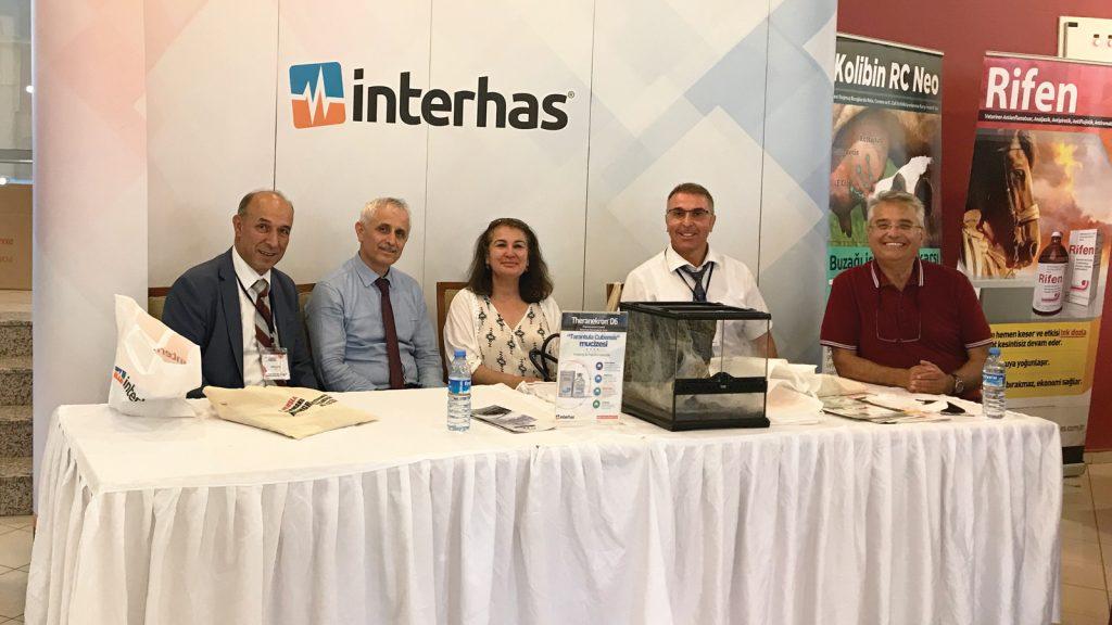 Bilimin destekçisi İnterhas, VETFARMATOKS 2019 Kongresine sponsor oldu