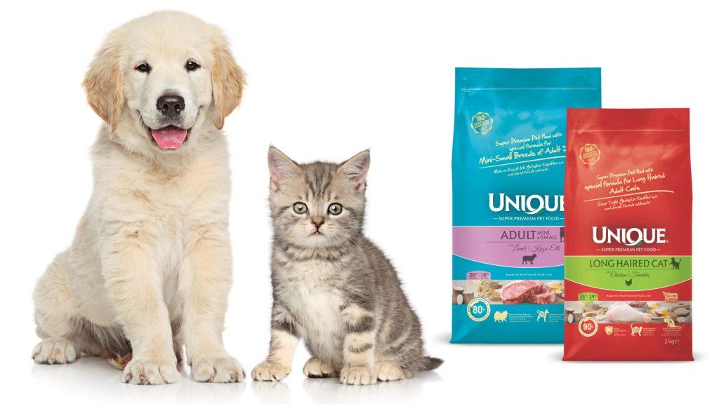 Yeni mama, özel mama;  Unique Süper Premium Pet Food